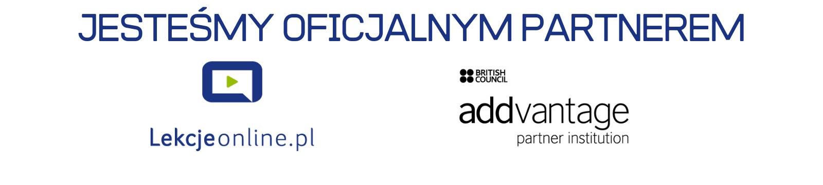 Jesteśmy oficjalnym partnerem british council addvantage partner institution